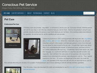 Conscious Pet Service Chicago