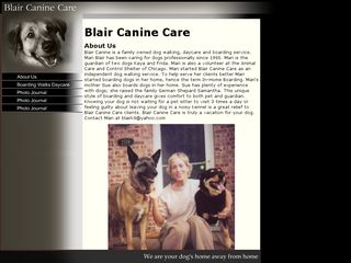 Blair Canine Care | Boarding