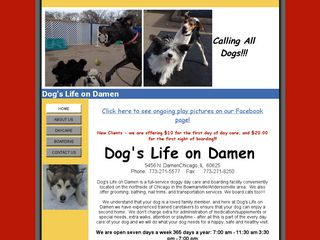 Dogs Life on Damen Chicago
