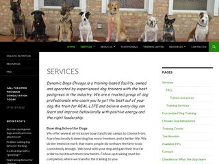 Dynamic Dogs Training & Behavior | Boarding