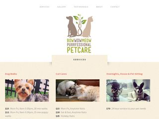 Bow Wow Meow Purrfessional Petcare Chicago
