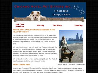Chicago Hotel Pet Sitters Chicago