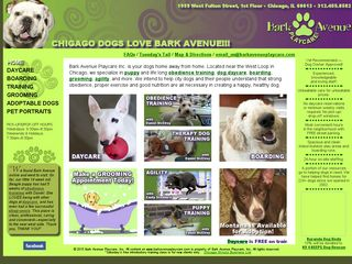 Bark Avenue Playcare Chicago