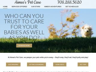 Aimees Pet Care | Boarding