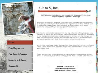 K 9 to 5 Inc | Boarding