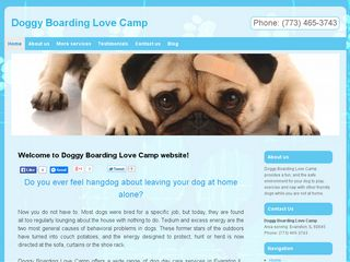 Doggy Love Camp Chicago