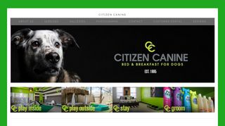 Citizen Canine | Boarding