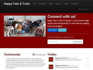 Happy Tails Trails | Boarding