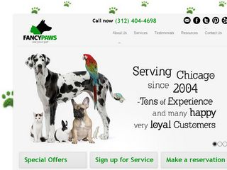 Fancy Paws Dog Walking and Pet Care Service Chicago