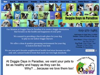 Doggie Days In Paradise LLC | Boarding