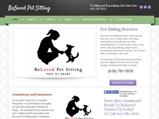 BeLoved Pet Sitting Chula Vista