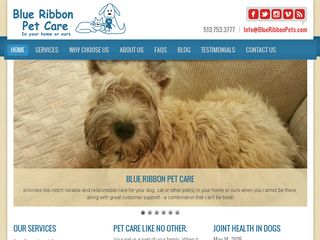A Blue Ribbon Pet Care Service | Boarding