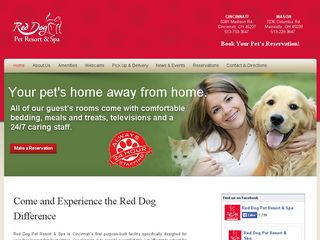 Red Dog Pet Resort & Spa Cincinnati