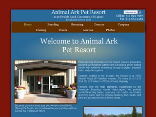 Animal Ark Pet Resort Cincinnati