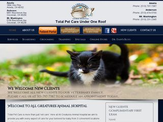 All Creatures Animal Hospital | Boarding