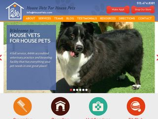 House Vets for House Pets | Boarding