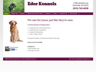 Eder Kennels | Boarding