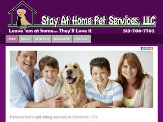 Stay at Home Pet Services | Boarding