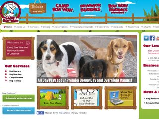 Camp Bow Wow Dog Boarding Cincinatti Cincinnati