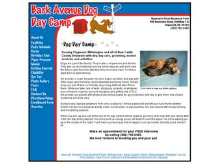 Bark Avenue Dog Day Camp Claymont