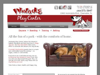 What A Dog Play Center Inc | Boarding