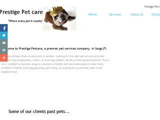Prestige Pet care Clearwater