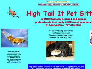 High Tail It Pet Sitting Clearwater