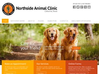 Northside Animal Clinic Cleburne