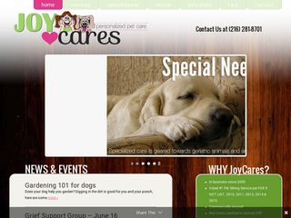 Joycares Personalized Pet Care | Boarding