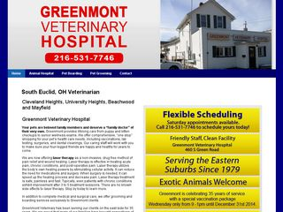 Greenmont Veterinary Hospital Cleveland