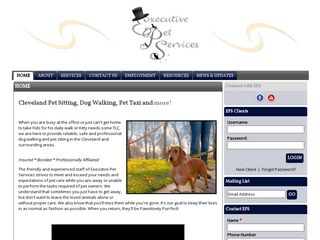 Executive Pet Services | Boarding