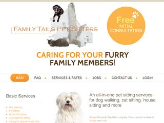 Family Tails Pet Sitters LLC | Boarding