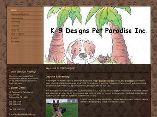 K 9 Designs Pet Paradise | Boarding