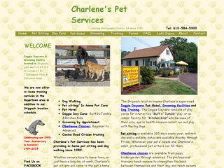 Charlenes Pet Sitting Service Collegeville