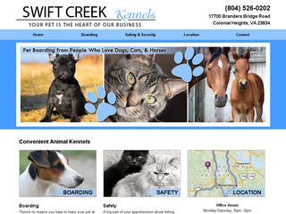 Swift Creek Kennels | Boarding