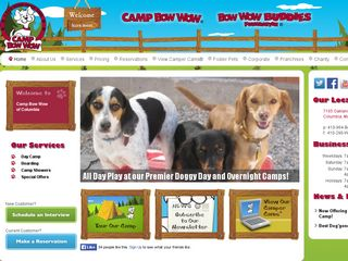 Camp Bow Wow Dog Boarding Columbia Columbia