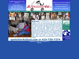 Photo of APetsitter4u in Columbia