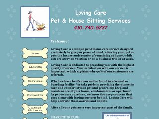 Loving Care Pet & House Sitting Services Columbia