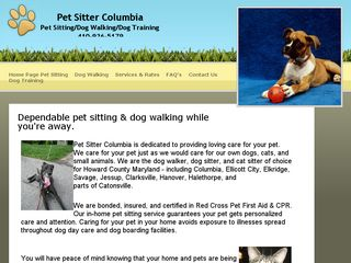 Pet Sitter Columbia | Boarding
