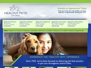 Healthy Pets of Ohio Westgate Columbus
