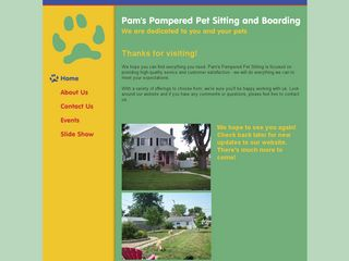 Pams Pampered Pet Sitting   Boarding Columbus