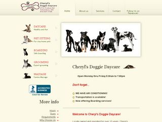 Cheryls Pet Sitting Service | Boarding