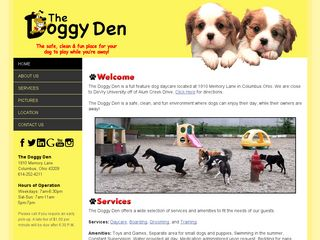 The Doggy Den | Boarding