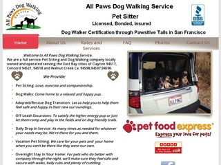 All Paws Dog Walking Service Concord