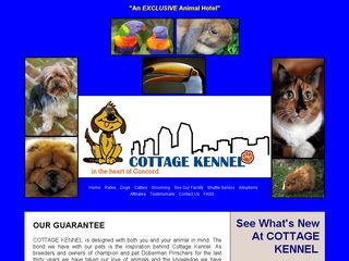 Cottage Kennel | Boarding