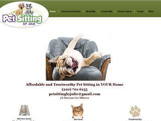 Pet Sitting By Julie Converse
