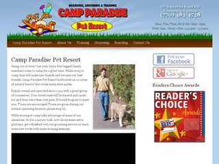 Camp Paradise Pet Resort | Boarding