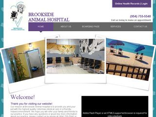 Brookside Animal Hospital Coral Springs