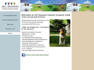 All Seasons Canine Country Club | Boarding