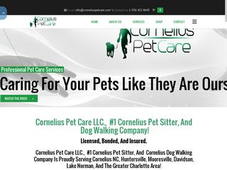 Cornelius Pet Care | Boarding